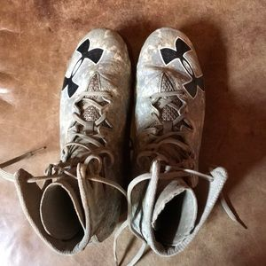Under Armour football cleats. Size 11.5